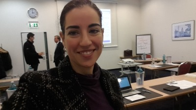 Maricla Kandzorra at the adjournment course for specialized lawyers in taxation in 2015